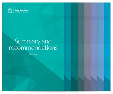 Royal Commission into Family Violence - Report and recommendations